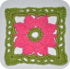 Granny Crochet Pattern flower