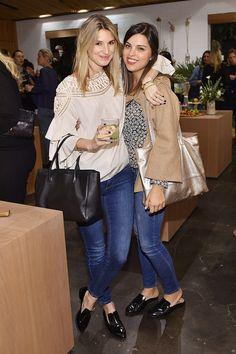 C Social Front. Jenni Kayne + Martha Stewart Living 25th Anniversary Party — Brittany Varet & Morgan Smith
