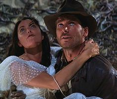 Indiana Jones and Marion #HighAdventure