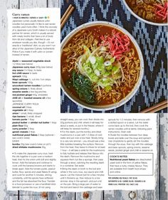 Curry ramen (Olive Magazine), Mar 20, 2020 Curry Ramen, Japanese Curry, Udon Noodles, Bean Sprouts, Garam Masala, A Food, Recipies, Spices, Magazine