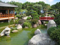 Skoro až snová část japonských zahrad