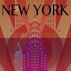 """""""Hiç uyumayan şehir"""" lakabını fazlasıyla hak eden şehir New York! #Maximiles #NewYork #NYC #ArtDeco #vintage #poster #travel #city #postcard #holiday #vacation #seyahat #tatil #şehir #kartpostal #gezi #ÖzgürceUç #DünyaSizin #OnuİyiKullanın #ŞehirPosterleri #instagood #picoftheday #instacity Art Deco, New York, Instagram Posts, Movies, Movie Posters, Films, New York City, Film Poster, Popcorn Posters"""