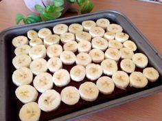 Banana chocolate cake with pudding - Kuchen - Chocolate Pudding Cake, Pudding Desserts, Alcohol Free Toner, Natural Yogurt, Puddings, Eating Habits, Food And Drink, Banana, Vegan