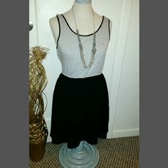 Forever 21 Dress only- grey and black dress size small. Forever 21 Dresses