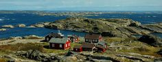 The Koster Islands off of Sweden's coast (and not far from Norway) are quaint, idyllic, and allow no motorized traffic. A perfect place for a summer picnic dinner party! Costa, Marine National Park, Places To Travel, Places To Visit, Norwegian Vikings, Fishing Villages, Free Travel, Places Around The World, West Coast