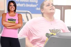 Lisa lost 97 lbs. on Season 10 of #BiggestLoser