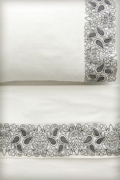 Paisley Shadow Sheet Set #anthropologie