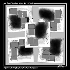Travel Template Album No. 1B