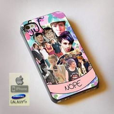 "5 Seconds Of Summer Collage Print On Hard Plastic For iPhone 4/4s, Black Case  This case is available for: iPhone 4/4S iPhone 5/5S iPhone 6 4.7"" screen Samsung Galaxy S4 Samsung Galaxy S5 iPod 4 iPod"