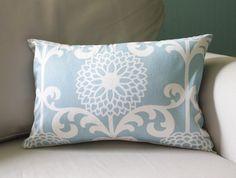 Pale Blue Lumbar Pillow