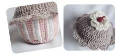 The Lazy Hobbyhopper: Crochet cupcake