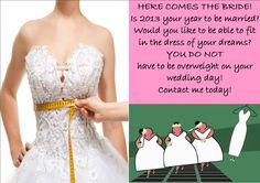 As a wedding photographer I am with brides and bridesmaids all the time.  If you want to lose weight before your wedding just ask me how.  I have lost 70 lbs (and my husband has lost 60 lbs) thanks to #Omnitrition.  #HCG  Here is my website: https://www.omnitrition.com/mitzim