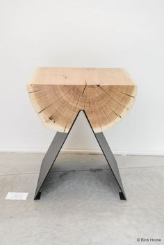 Contemporary and rustic table design. #furnituredesign #rustic #inspiration #natural