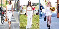 14 Inspiring White Outfits to Copy This Summer  - HarpersBAZAAR.com