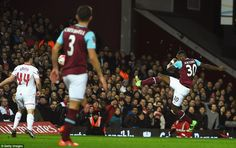 West Ham 2-1 Liverpool (AET): Angelo Ogbonna wins the game in last minute of extra time as Jurgen Klopp's side crash out of Cup