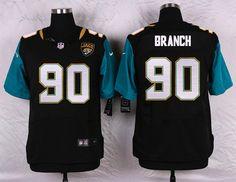 jacksonville jaguars 90 andre branch black elite jersey