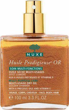 Avec l'huile prodigieuse or de NUXE (100 ml), vous allez briller de mile feux ! On adore aussi son odeur gorgée de soleil.