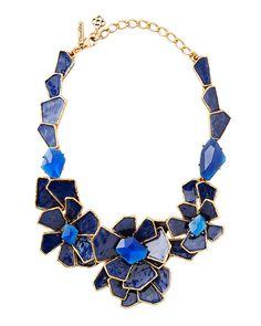 Oscar de la Renta necklace.
