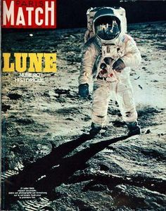 Paris Match - Appolo 11 - Neil Armstrong