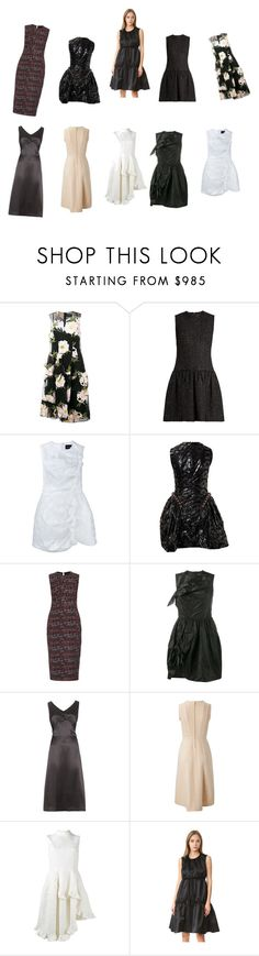 """""""style"""" by emmamegan-5678 ❤ liked on Polyvore featuring Simone Rocha, Rochas and vintage"""