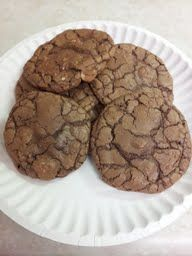 Triple Chocolate Cookies   Jane and Lorraine