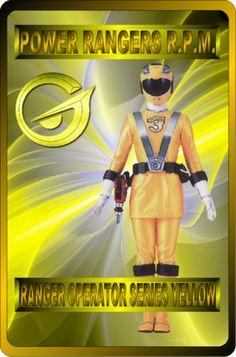 Ranger Operator Series Yellow by rangeranime on @DeviantArt