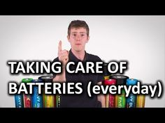 How should I charge my batteries?