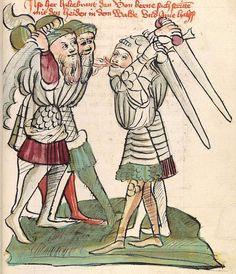 'Virginal' — Hagenau - Werkstatt Diebold Lauber, um 1444-1448 Cod. Pal. germ. 324 Folio 32r