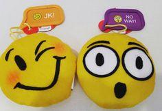Hors de la langue Novelties Jouet Fun Poo Emoji Emoticon Toy Keychain Little Tricky H
