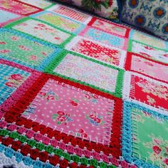 This Fabric Crochet Quilt is beyond gorgeous and you will love to make it for a favourite space in your place. We've included a video tutorial to assist.