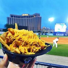Great food and a good view at MGM Park! Put it on your bucket list to go to a Biloxi Shuckers game.