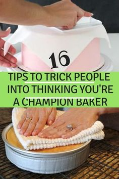 With these baking tips, you'll be impressing all your friends and family!