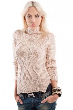 Свитер Zara с горлом — Женские свитера и вязаные кофты