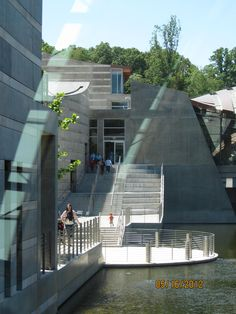 We love the architecture AND of course the art at the Crystal Bridges Museum of American Art in Bentonville, AR