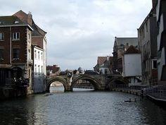 Grootbrug in Mechelen, #Belgium #bridge #beautifulplaces