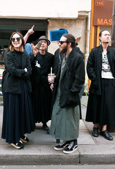 Street style and fashion trends - Lelook | Very Yamamoto, Paris 2013