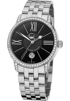 Ulysse Nardin - Classic Luna Stainless Steel Diamonds Watch 8293-122B-7/42