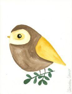 Image of Illustration Oiseau #3