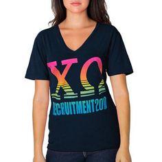 sorority recruitment Greek Recruitment Designed Logo for Screen Printed Tee Shirts. Custom Sorority Recruitment Apparel and Clothing. Customize your Sorority Gear with Any Artwork. Sorority Recruitment Themes, Sorority Rush, Sorority Outfits, Bid Day Shirts, Rush Shirts, Sorority Shirt Designs, Sorority Shirts, Custom Greek Apparel, Greek Clothing