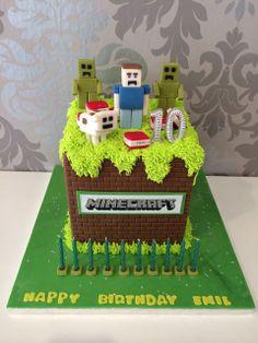 Minecraft Torte | Cupcakes Manufaktur Wien                              …
