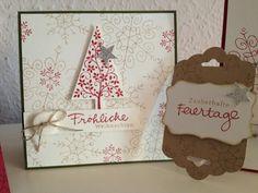 Weihnachtsstimmung bei 20℃ und Stampin Up! Quadratic Festival of Trees - Card 2014