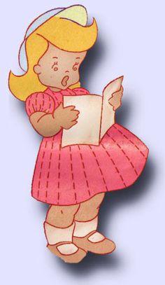 1940s Uncut Workbasket Embroidery Transfer 82 Helpful Miss Tea Towels More | eBay