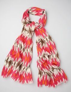 ikat scarft