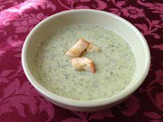 Czech Recipes in English | Broccoli Soup Recipe – Brokolicová polévka