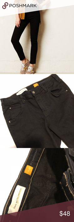 • Anthropologie • Anthropologie Pilcrow denim in superscript fit. Black denim in size 29.                                                                  ❌Trades  💯Authentic  ❌PayPal  💕Discounts on Bundles  ✅Offers Welcome  🙋Yes to Questions Anthropologie Jeans