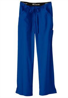 Greys Anatomy drawstring waist cargo scrub pants. - Scrubs and Beyond love this color