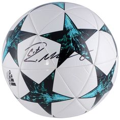 edb789a8de2 Cristiano Ronaldo Real Madrid Fanatics Authentic Autographed Adidas 2017  UEFA Champions League Soccer Ball  RealMadrid