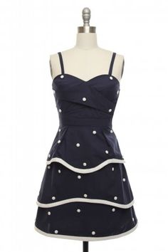 In Love With a Sailor Dress - $69.99