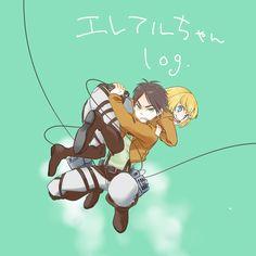 eremin   Tumblr Aot Anime, Fanarts Anime, Otaku Anime, Anime Guys, Attack On Titan Eren, Attack On Titan Ships, Ereri, Eren X Armin, Cute Gay Couples