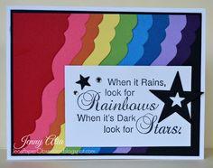 Rainbows and Stars by Jenny Alia